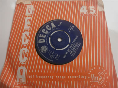 The Fortunes - You've Got Your Troubles Bi, I've Got To Go 1965 7 Inch Vinyl