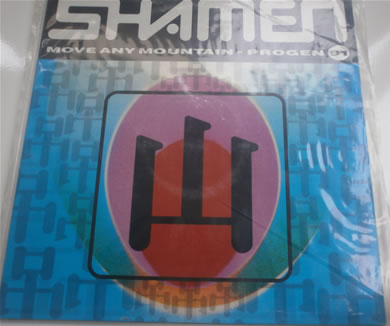 Shamen - Move Any Mountain - progen 91 4 tracks e.p 12 Inch Vinyl