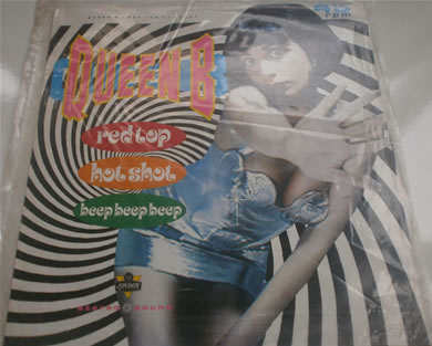Queen B - Red Top Hot Shot 12 Inch Vinyl