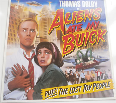 Thomas Dolby - Aliens Attacked My Buick 12 inch vinyl