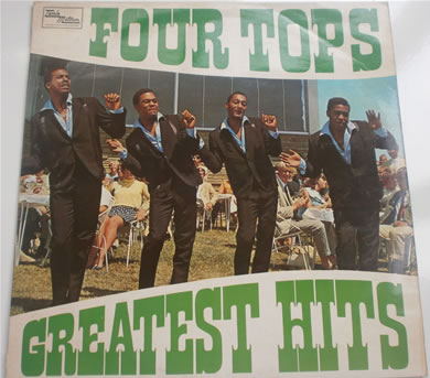 The Four Tops - Greatest Hits 12 inch vinyl