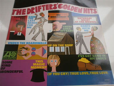 The Drifters - Golden Hits 12 inch vinyl