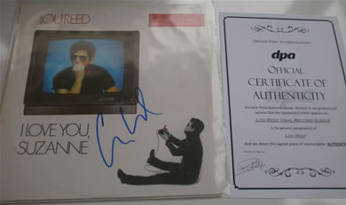 Vinyl Records Signed