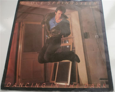 Bruce Springsteen - Dancing In The Dark / Pink Cadillac 1984 7 Inch Vinyl