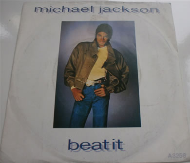 Michael Jackson - Beat It / Burn This Disco Out A3258 7 Inch Vinyl