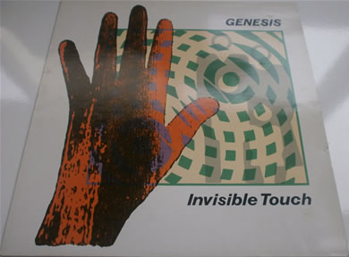 Genesis - Invisible Touch 12 inch vinyl