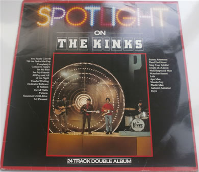 The Kinks - Spotlight On 12 inch vinyl