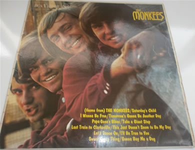 The Monkees - The Monkees RD-7844 MONO 12 inch vinyl