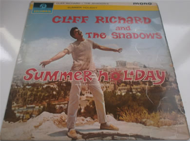 Cliff Richard & The Shadows - Summer Holiday 33SX 1472 12 inch vinyl