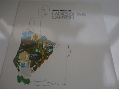 Joni Mitchell - Ladies Of The Canyon 1973 RS 6376 12 inch vinyl