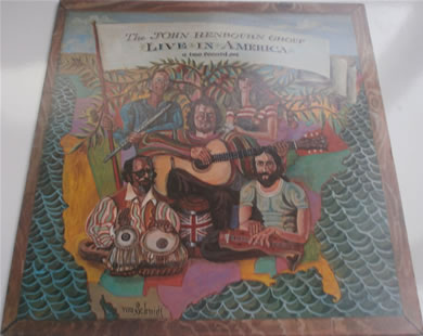 The John Renbourn Group - Live In America 12 inch vinyl