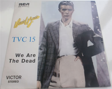 David Bowie - TVC 15 B, We Are The Dead Portugal press PB-10664 7 Inch Vinyl