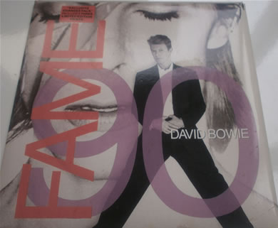 David Bowie - FAME 90 (glass mix) 7 Inch Vinyl